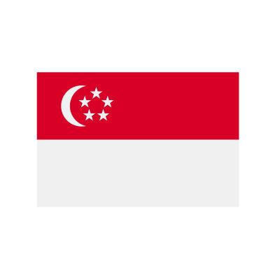 Singapre flag.