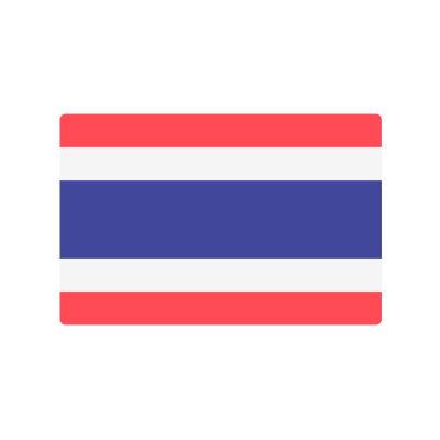 Thailand flag.