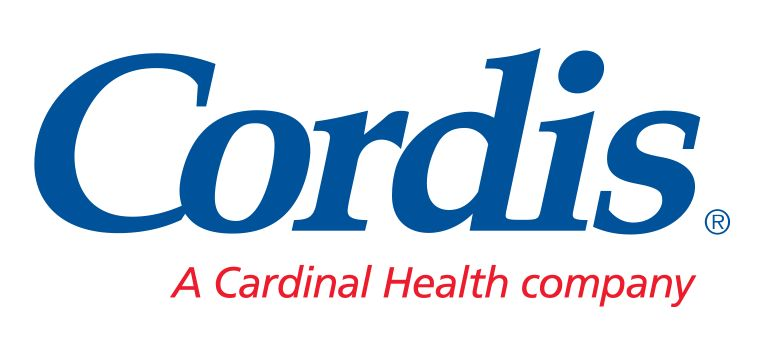 Logo reading Cordis, a Cardinal Health company.