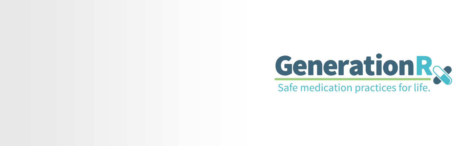 logo that says Generation RX safe medication practices for life