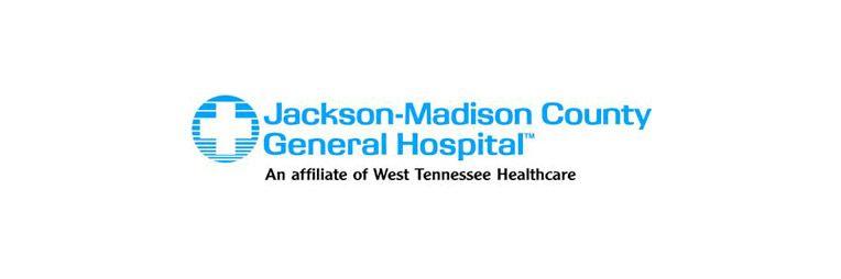 Jackson-Madison county hospital logo.