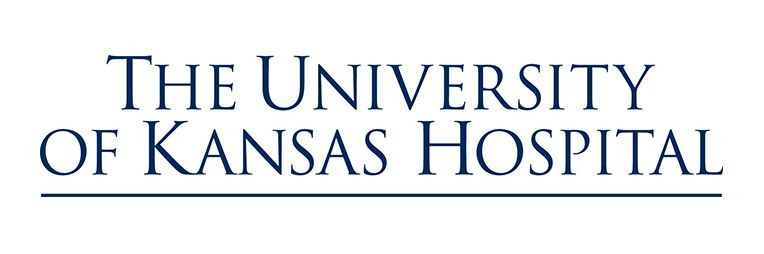 The university of Kansas Hospital logo.
