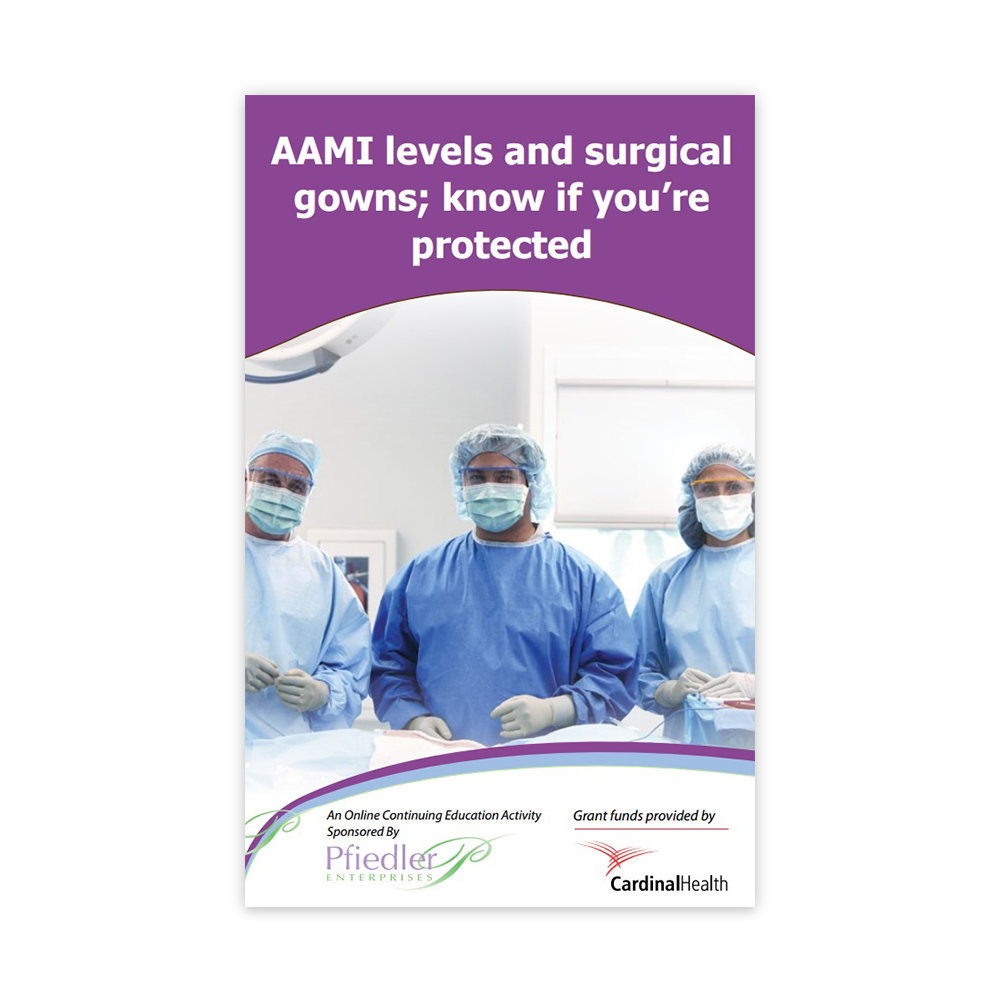 AAMI levels and surgical gowns: Know if you\'re protected