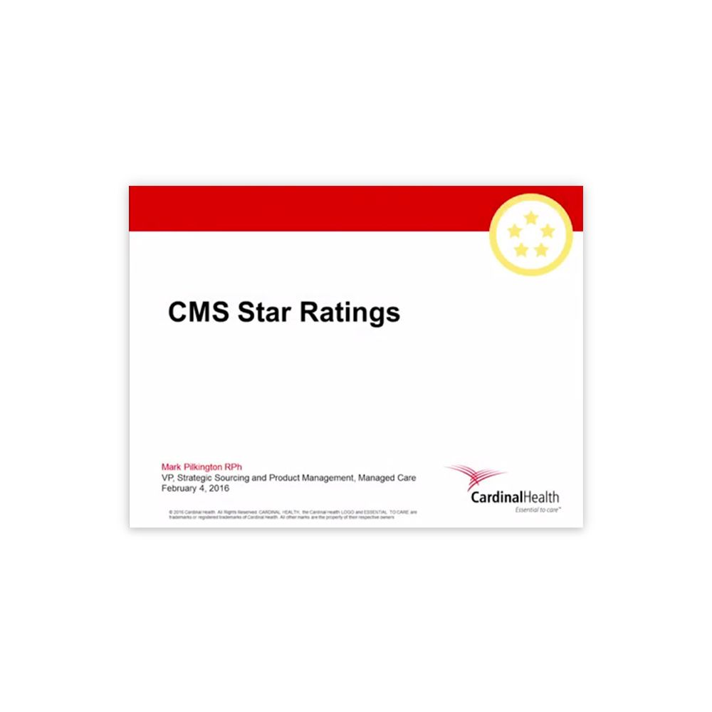 Reach for the Stars CMS Star Rating video