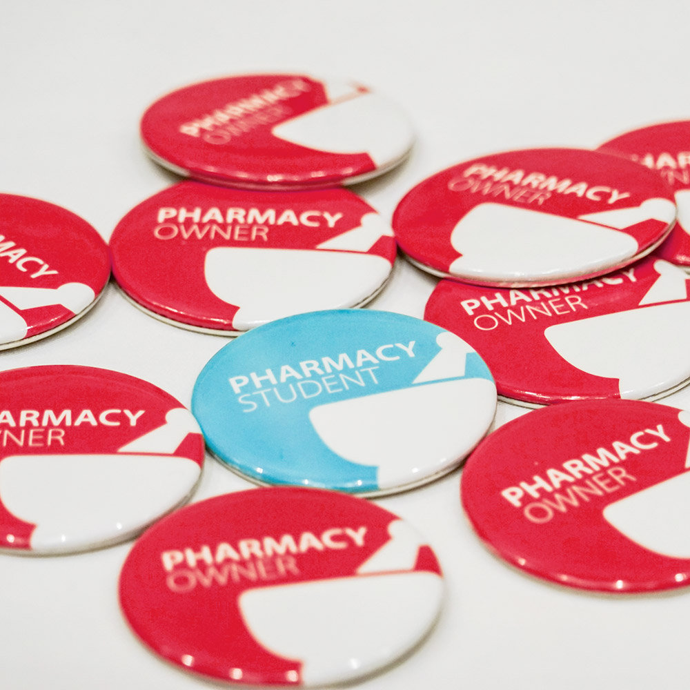 Buttons that say Pharmacy Student and Pharmacy Owner