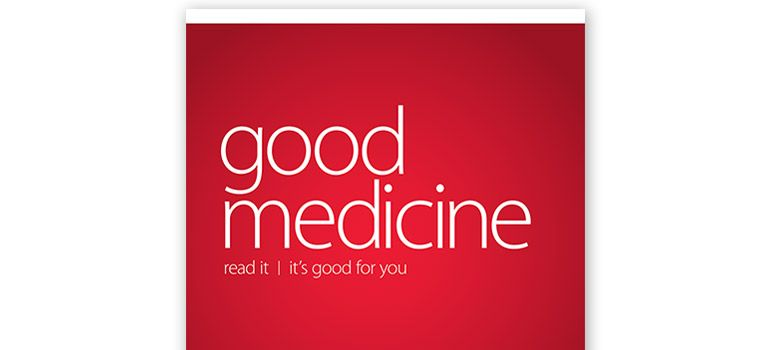 Cover of Good Medicine magazine.
