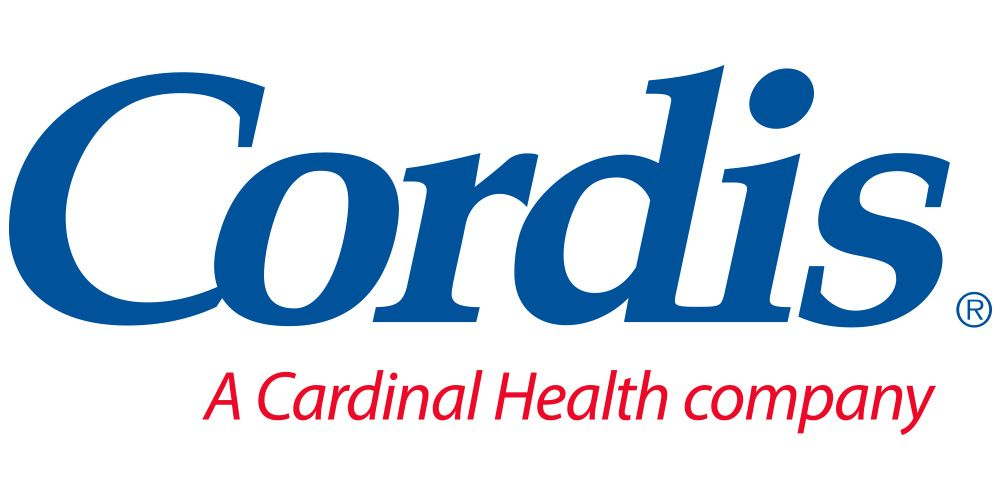 Logo reading Cordis, a Cardinal Health company.