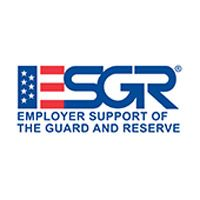 logo reading Employer Support of the Guard and Reserve