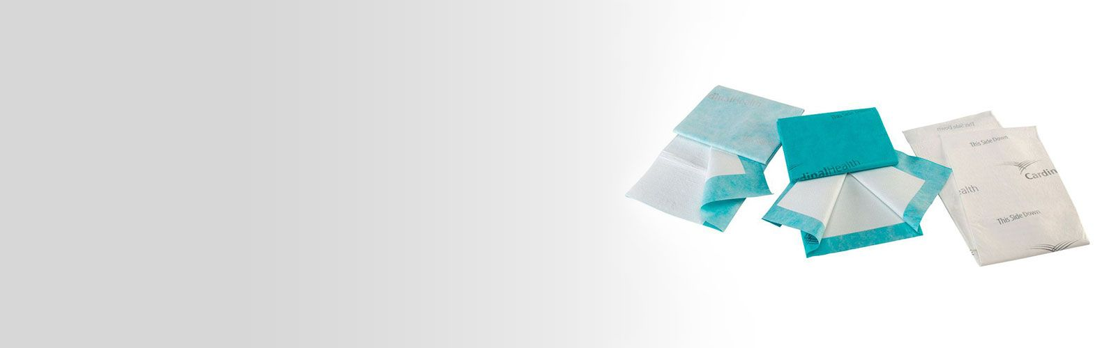 Incontinence underpad products.
