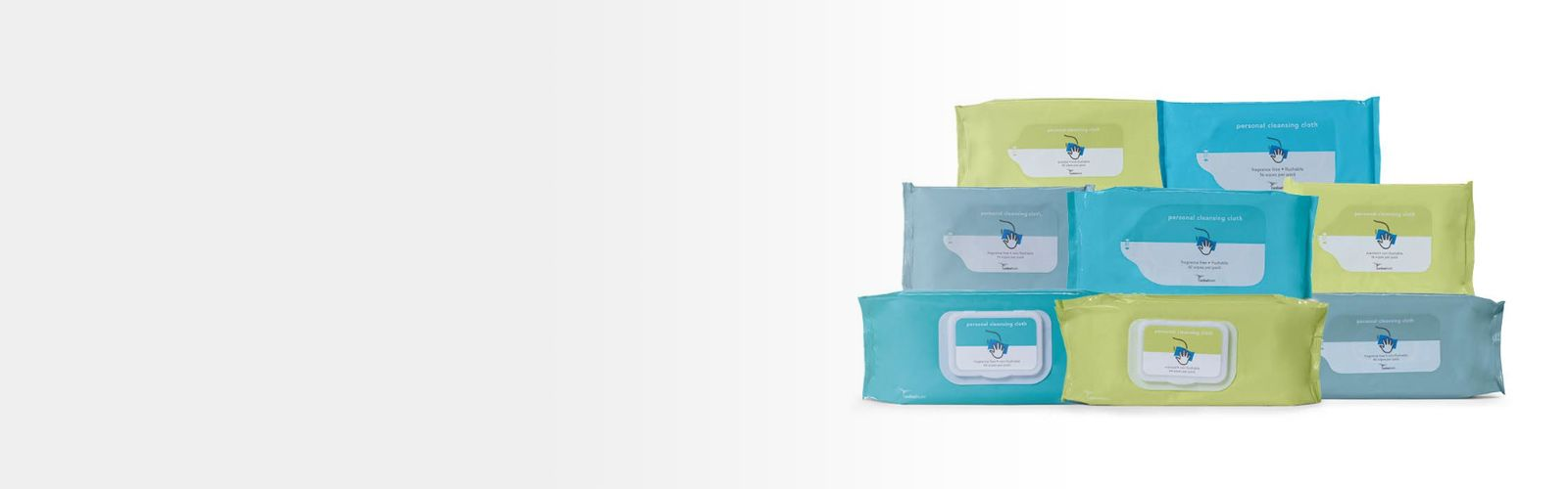 Personal cleansing cloths.