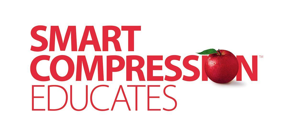 Smart Compression Educates logo.