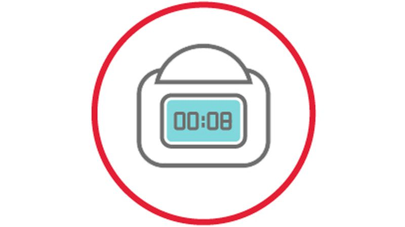 Icon of IPC device wear-time tracking.