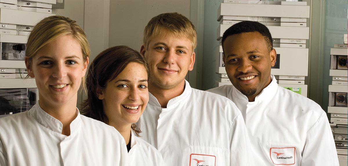 Image of lab professionals.