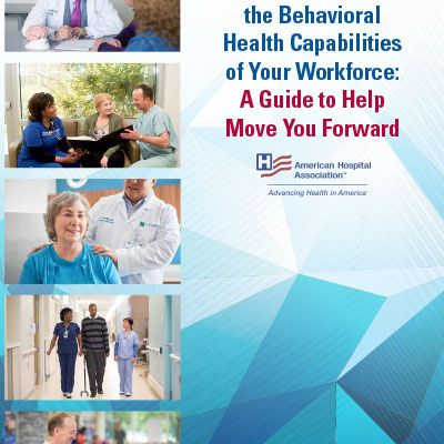 Cover of Behavior Health Capabilities guide.