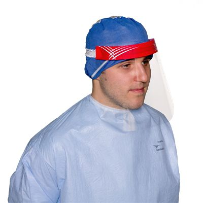 Use Facial and Respiratory Protection to protect yourself against splash and airborne particles.