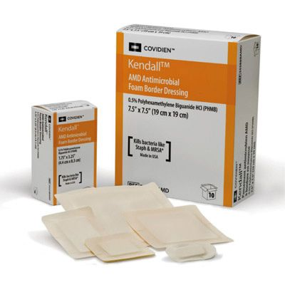 Antimicrobial Dressings with PHMB.