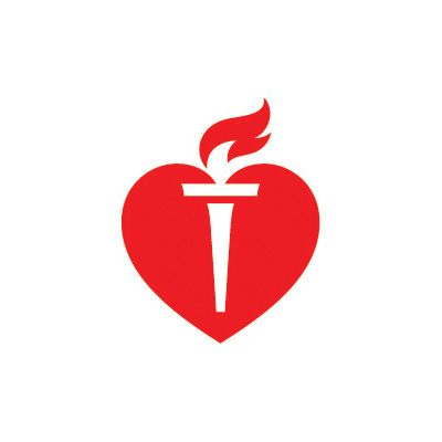 Logo for American Heart Association.
