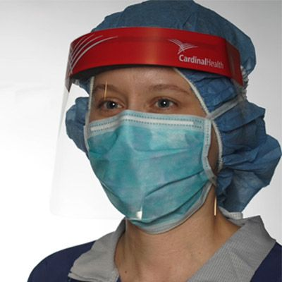 Surgical mask donning