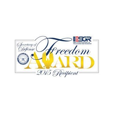 award reading 2015 Employer Support Freedom Award