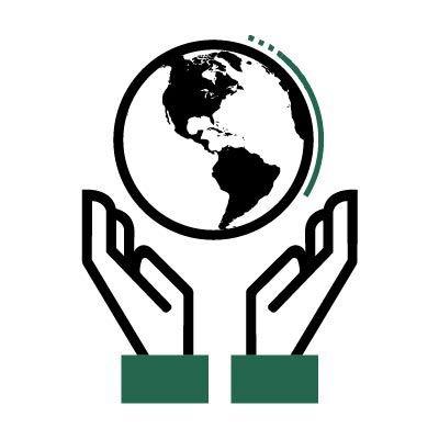 green world outreach icon.