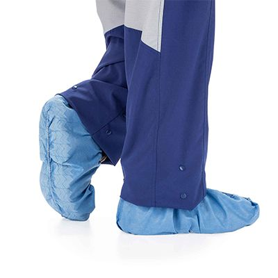 Shoe covers to help protect you from head to toe.