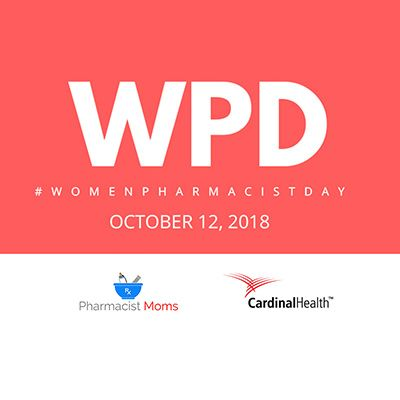 Logo reading Women Pharmacist Day.