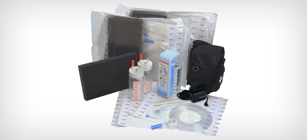 Cardinal Health™ NPWT PRO TO GO Kit.