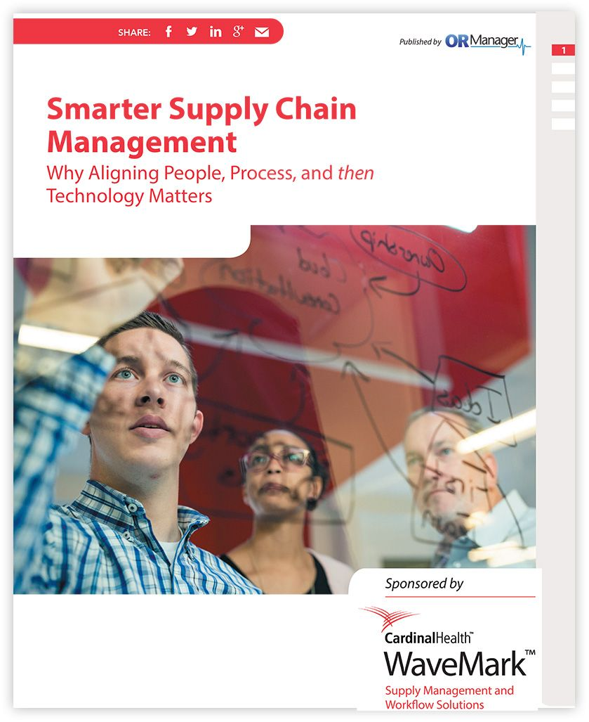 "front cover of whitepaper entitled ""Smarter Supply Chain Management"""