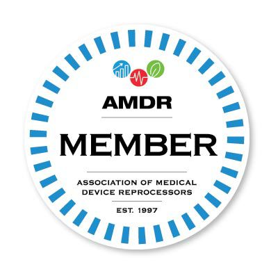 AMDR member logo.