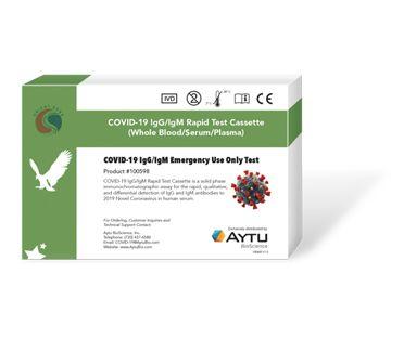 Aytu COVID-19 lgG/lgM Rapid Test Cassette