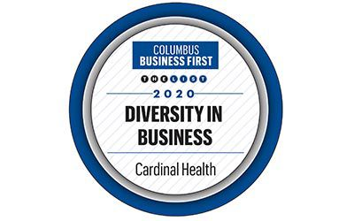 Columbus Business First 2020 Diversity in Business logo.