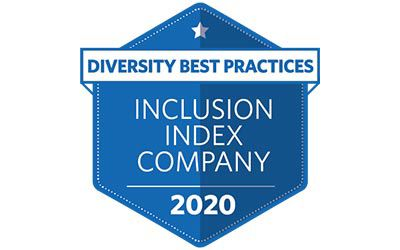Diversity Best Practices Inclusion Index Company 2020 logo.