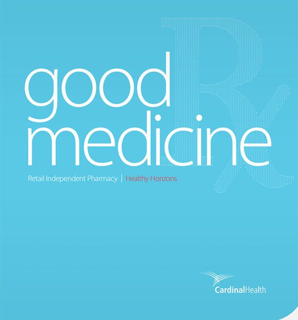 text reading good medicine, retail independent pharmacy 2017