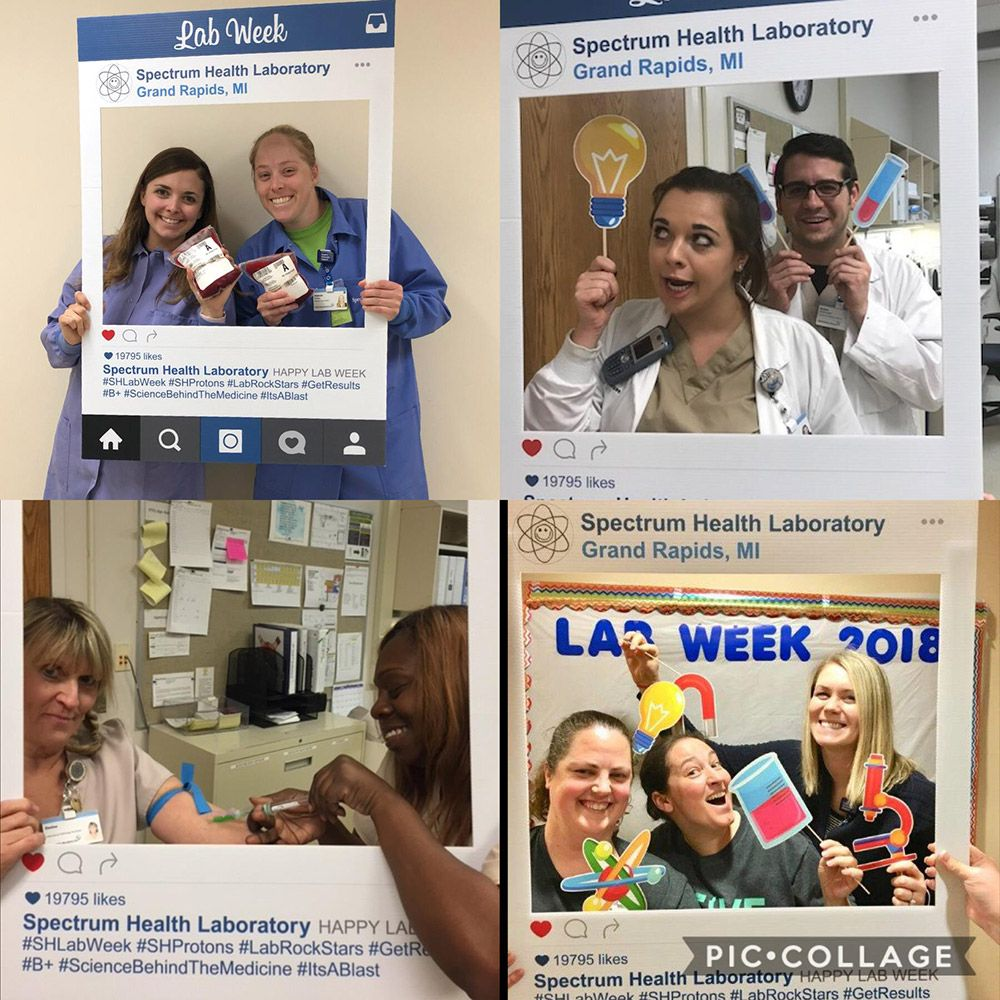 Laboratory Professionals put the puzzle pieces together