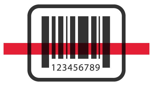Illustration of a bar code.