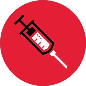 icon of syringe.