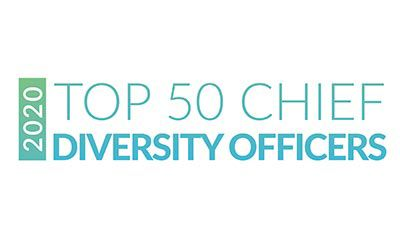 2020 Top 50 Chief Diversity Officers logo.
