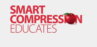 Smart Compression Educates graphic.