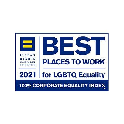 Best Places to Work Corporate Equality Index logo.
