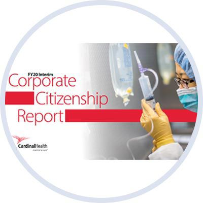 Corporate Citizenship Report 2020.