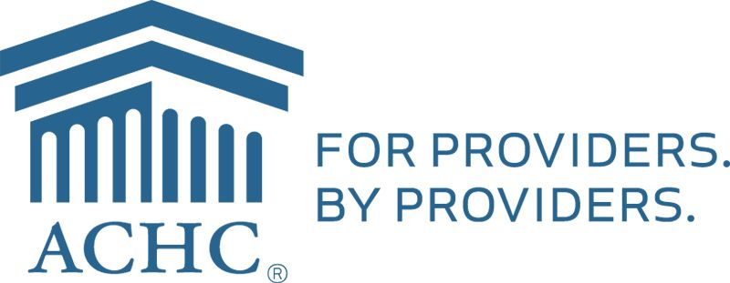 ACHC for Providers by Providers logo.