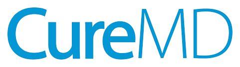 CureMD logo.