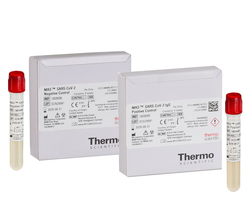 Thermo Scientific MAS Serological Controls for SARS-CoV-2 IgG Antibody