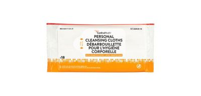 Personal Cleansing Clothes with Dimethicone.