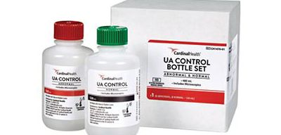 Urinalysis Control Bottles.